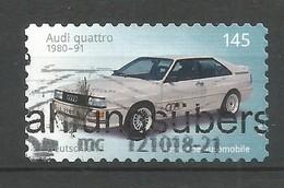 BRD 2018  Mi.Nr. 3379 , Audi Quattro - Selbstklebend - Gestempelt / Used / (o) - BRD