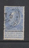 COB 60 Oblitéré ST-JOSSE-TEN-NOODE (Rue Du Méridien) - 1893-1900 Fine Barbe