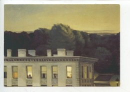 Edward Hopper 1882/1967 House Oat Dusk 1935 (stuttgart) Cp Vierge - Pittura & Quadri