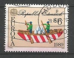 Österreich  1989  Mi.Nr. 1956 , EUROPA CEPT Kinderspiele - Gestempelt / Used / (o) - Europa-CEPT