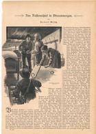 115 Passionsspiel Oberammergau 1 Artikel Mit 10 Bildern Von 1890 !! - Christianisme