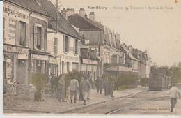 """91 MONTLERY """".station Du Tramway  Arrivee Du Train  """" ) - Montlhery"""