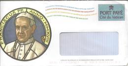 Enveloppe De Service Du Service Philatélique Du Vatican - Entiers Postaux