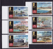 ASCENSION , 2016, MNH, BBC RELAY STATION, TURTLES, MOUNTAINS, LANDSCAPE, WIND ENERGY - Turtles