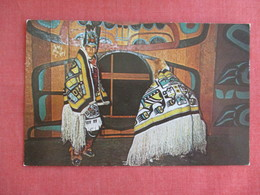 Wearing The Famous Chilkat Blankets  Alaska  >ref 3135 - Native Americans