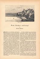 117 Bad Wimpfen Friedrich Der Große 2 Artikel Mit Ca. 11 Bildern Von 1886 !! - Zeitungen & Zeitschriften