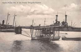 CPA - AÇORES  /  AZORES,  Hydro-Aviao No 4 Em Ponta Delgada - Açores