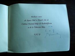 Wenskaart  1959  Inst .  National  Belge De Radoidiffusion Et De La Télévision Belge - Cartoline