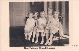 Royalty Dynastie Famille Royale Luxemburg Luxembourg Nos Enfants Grand-Ducaux - Famille Grand-Ducale