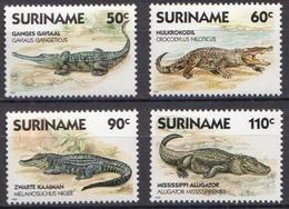 Surinam MNH Set - Reptiles & Amphibians
