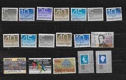 PAYS BAS 1041 à 1045/1044a/1045a/1044b/1042c/1046/1047/1049/1052/1057/1058  Oblitérés Rond - Period 1949-1980 (Juliana)