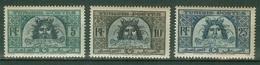 FRANCE COLONIES - TUNISIE -  Poste  YT N° 316 318 319A Neufs* - Tunisia (1888-1955)