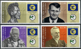 Papua New Guinea. 2018. 50th Anniversary Of United Church In Papua New Guinea (MNH OG **) Set Of 4 Stamps - Papouasie-Nouvelle-Guinée