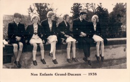 Royalty Dynastie Famille Royale Luxemburg Luxembourg Nos Enfants Grand-Ducaux 1938 - Grand-Ducal Family