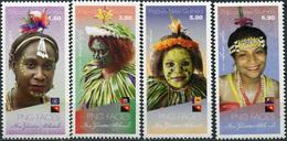 Papua New Guinea. 2018. New Guinea Islands (MNH OG **) Set Of 4 Stamps - Papua New Guinea