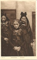 67 - Oberseebach - Jeunes Alsacienes En Costume Traditionel - France