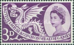 USED  STAMPS Great-Britain - Flag With British Empire And Commonwealth - 1958 - 1952-.... (Elizabeth II)