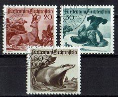 *Liechtenstein 1950 // Mi. 285/287 O (033..452) - Liechtenstein