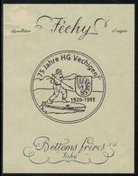 Rare // Etiquette De Vin // Sport-tradition // Féchy, Hornuss 75 Jarre HG Vechigen - Etiquettes