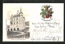 AK Tübingen, Verbindungshaus Der Burschenschaft Ghibellinia - Cartoline