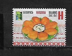 Belarus 2016 National Cuisine - Kalduny   MNH - Belarus