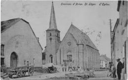 Saint-Léger Environ D'Arlon Saint-Léger L'église 1 Avril 1909 - Saint-Léger