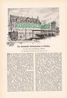 127 Germanische Nationalmuseum Nürnberg  1 Artikel Mit Ca. 9 Bildern Von 1902 !! - Historische Dokumente
