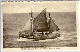 KNOCKE-KNOKKE - Retour De Pêche - Knokke