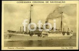 1941 OLD POSTCARD PAQUEBOT SHIP BARCO PAQUETE MOUZINHO LINER BATEAUX VESSEL CARTE POSTALE - Dampfer
