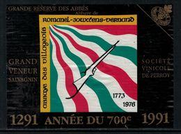 Rare // Etiquette De Vin // Tir // Salvagnin, Abbaye Des Villageois - Etiquettes