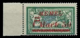 MEMEL 1922 Nr 66 Postfrisch SRA X887C9A - Memelgebiet