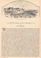 129 Rothenburg Tauber 1 Artikel Mit Ca. 20 Bildern Von 1890 !! - Zeitungen & Zeitschriften