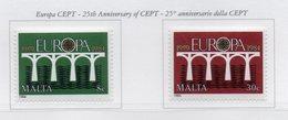 Malta - 1984 - 25° Anniversario Della CEPT - 2 Valori - Nuovi - Vedi Foto - (FDC13884) - Malta