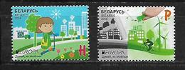 Belarus 2016 EUROPA Stamps - Think Green  MNH - Belarus