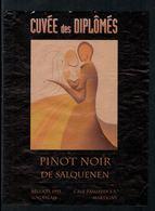 Rare // Etiquette De Vin // Enseignement // Pinot Noir , Cuvée Des Diplômés - Enseignement