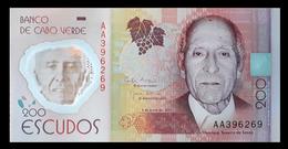# # # Banknote Kap Verden (Cape Verde) 200 Escudos UNC # # # - Cap Vert