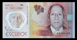 # # # Banknote Kap Verden (Cape Verde) 200 Escudos UNC # # # - Cabo Verde