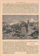 134 Gravelotte Sedan Erinnerungsblatt Bismarck 1 Artikel Mit 6 Bildern Von 1890 !! - Historische Dokumente