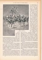 135 Russische Kavallerie Deutsche Ostgrenze 1 Artikel Mit 10 Bildern Von 1894 !! - Historische Dokumente