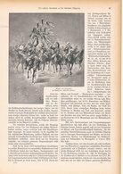 135 Russische Kavallerie Deutsche Ostgrenze 1 Artikel Mit 10 Bildern Von 1894 !! - Unclassified