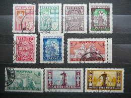 Lietuva Litauen Lituanie Litouwen Lithuania # 1934 Used # Mi. 394/03 - Lituanie