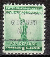 USA Precancel Vorausentwertung Preo, Locals California, Grossmont 713 - Vereinigte Staaten