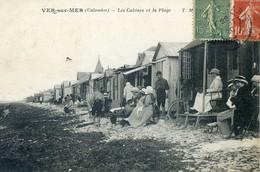 VER SUR MER Les Cabines Et La Plage - France