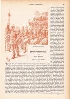 136 Manöverbilder Kaiser König Württemberg 1 Artikel Mit 9 Bildern Von 1894 !! - Historische Dokumente