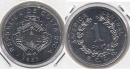 Costa Rica 1 Colón 1982 KM#210.1 - Used - Costa Rica