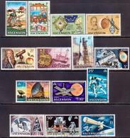 ASCENSION 1971 SG #135-48 Compl.set Used Decimal Currency - Ascension