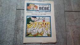 Le Journal De Bébé N°142 Juillet 1934 Polydor Et Les Oies Devinettes Fables De Florian Nanette - Books, Magazines, Comics