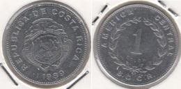 Costa Rica 1 Colón 1989 KM#210.2 - Used - Costa Rica