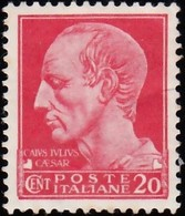 ITALY - Scott #217 Julius Cesar / Mint H Stamp - 1900-44 Victor Emmanuel III