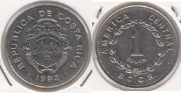 Costa Rica 1 Colón 1993 KM#210.2 - Used - Costa Rica